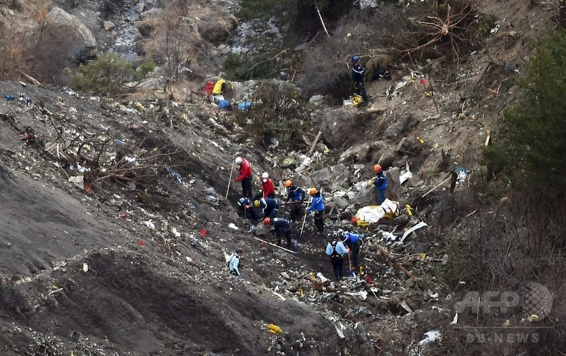 独機墜落、操縦士の精神疾患めぐる「ルール明確化を」 仏当局