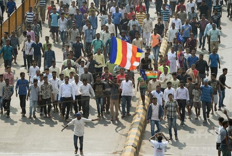 印カースト最下層出身者ら、ヒンズー至上主義に抗議デモ