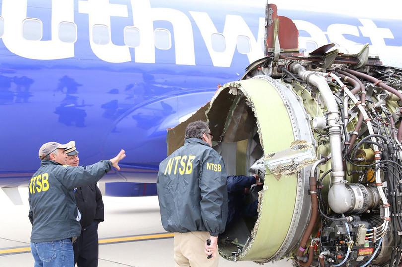 米当局、航空機エンジンの緊急点検を指示 死亡事故受け
