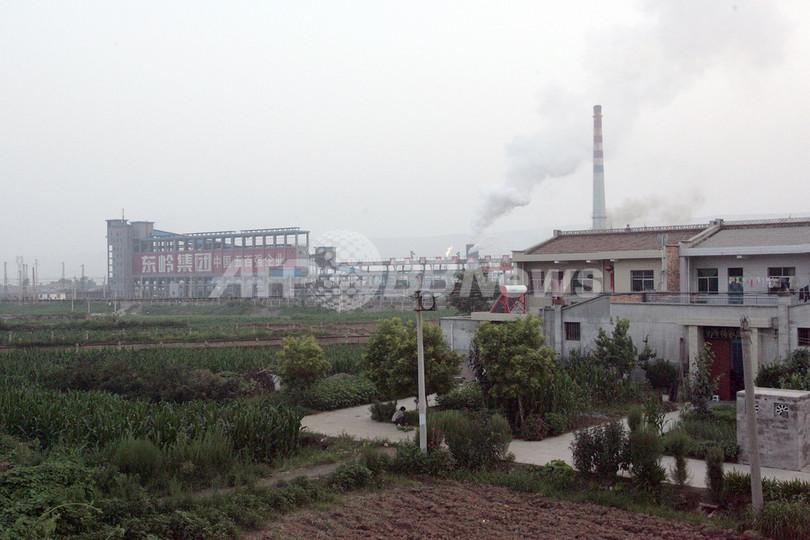 中国、鉛精錬工場に住民押しかけ 子どもらの鉛中毒で