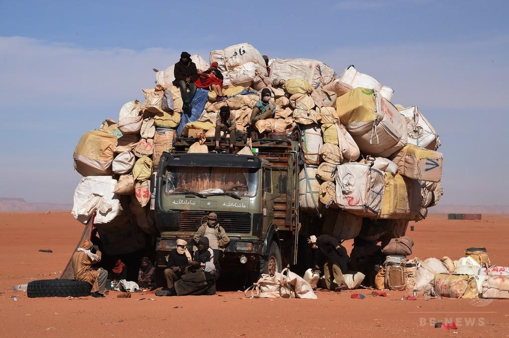 【AFP記者コラム】砂漠で見逃した世界一大きなトラック、ニジェール