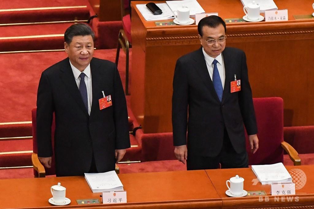 中国全人代開幕、首相「計り知れない」経済的苦難に警鐘