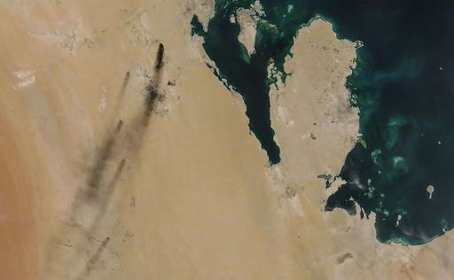 米大統領「臨戦態勢を取る」 サウジ石油施設の攻撃受け、報復を示唆