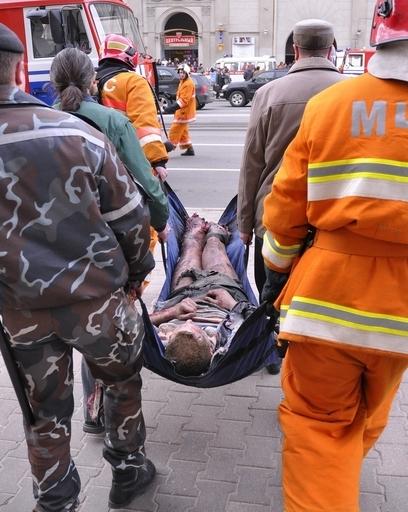 ベラルーシ首都の地下鉄駅で爆発、11人死亡 「テロ」と断定