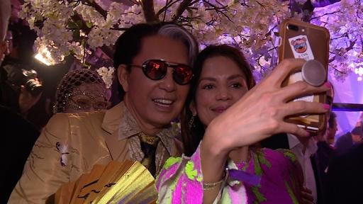 動画:高田賢三、80歳の記念パーティー開催