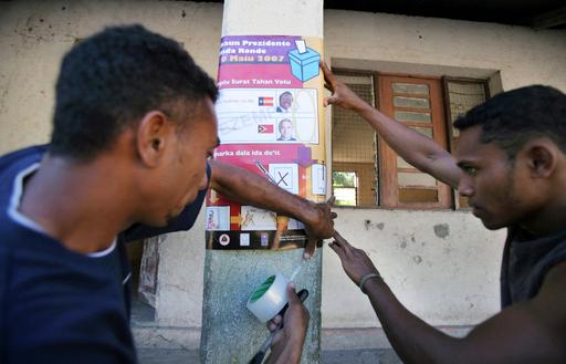 大統領選、決選投票始まる - 東ティモール