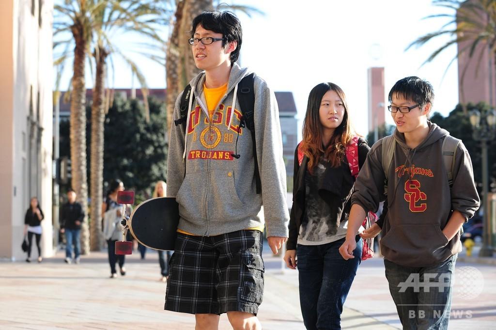 米国は「中国人学生歓迎」、中国当局の米就学への警告に反論