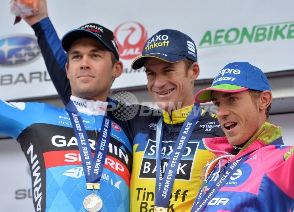 ロジャース優勝、ジャパンカップサイクルロードレース