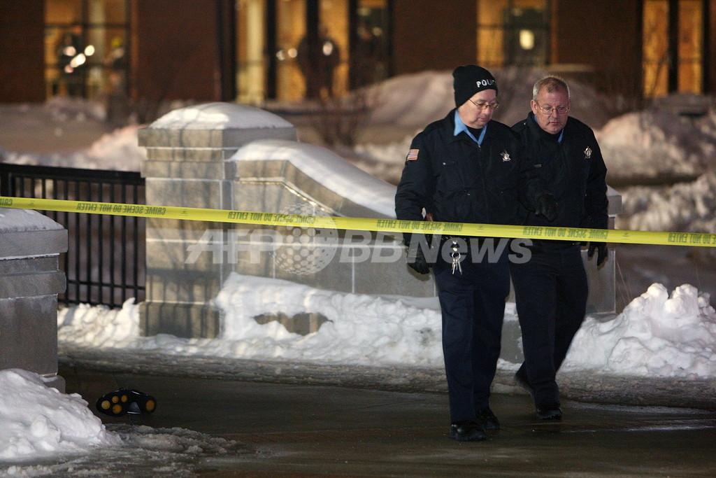 米イリノイ州銃乱射事件、自殺した犯人は元大学院生