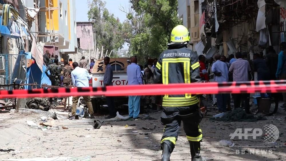 動画:ソマリアの市場に車爆弾、9人死亡 イスラム過激派が犯行声明 写真1枚 国際ニュース:AFPBB News