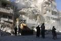 米英仏、シリア空爆激化でロシアを非難 22日以降124人死亡