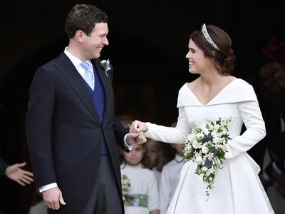 【写真特集】英女王の孫ユージニー王女のロイヤルウエディング