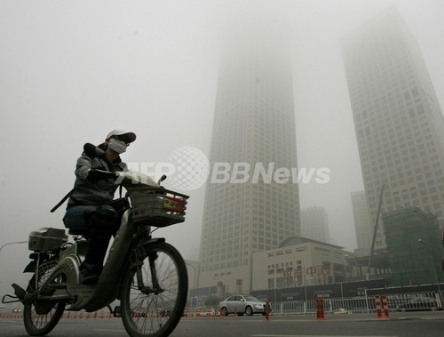 英選手団はマスクで北京五輪参加も、大気汚染対策で