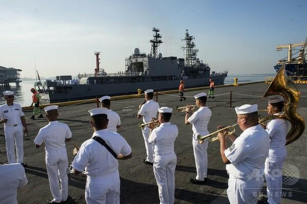 海自の護衛艦「あまぎり」、フィリピンを親善訪問 マニラに入港