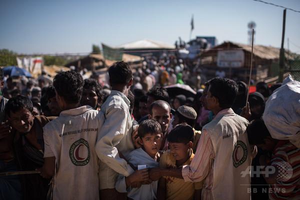 ロヒンギャ難民キャンプでジフテリア流行か、9人死亡 700人超が感染 バングラ