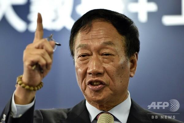 鴻海の郭会長、家出した妻めぐり「後宮は政治に首を突っ込むな」と発言