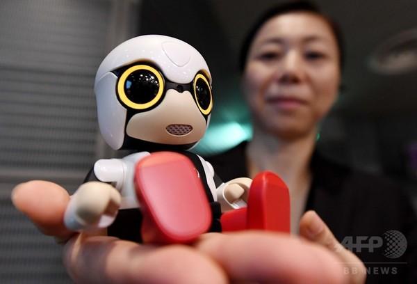 トヨタ、小型会話ロボ「キロボミニ」販売へ 1体3万9800円