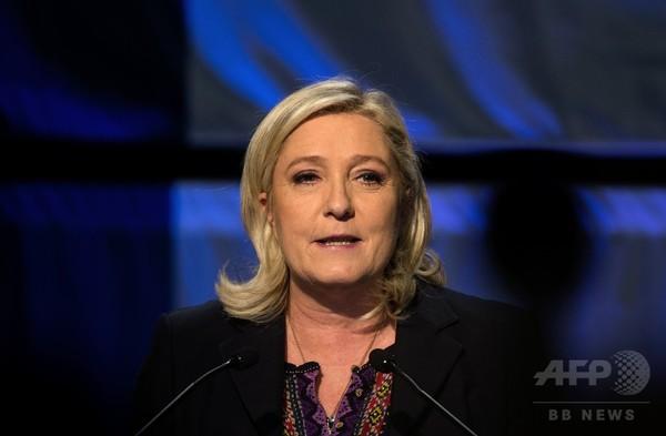 極右政党党首が初の女性仏大統領になる確率は?