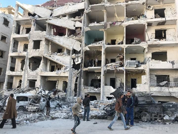 シリア政権軍のイドリブ攻撃「東グータ6倍の被害も」 国連特使