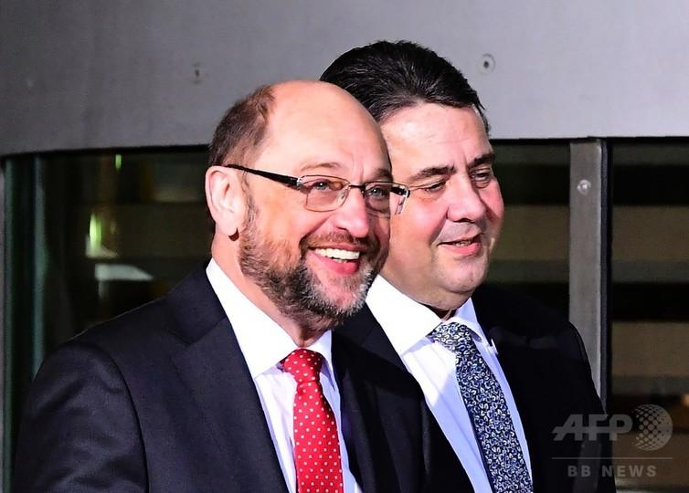 独社民党の首相候補にシュルツ前欧州議会議長 メルケル氏の対抗馬
