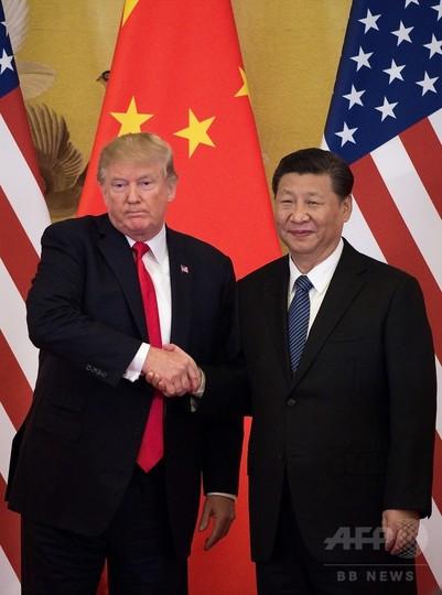 米中首脳が電話会談、「朝鮮半島情勢で前向きな変化」と習主席