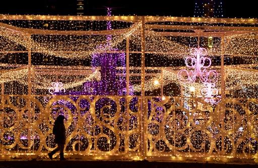 83万個のライトが幻想的に、札幌でイルミネーション
