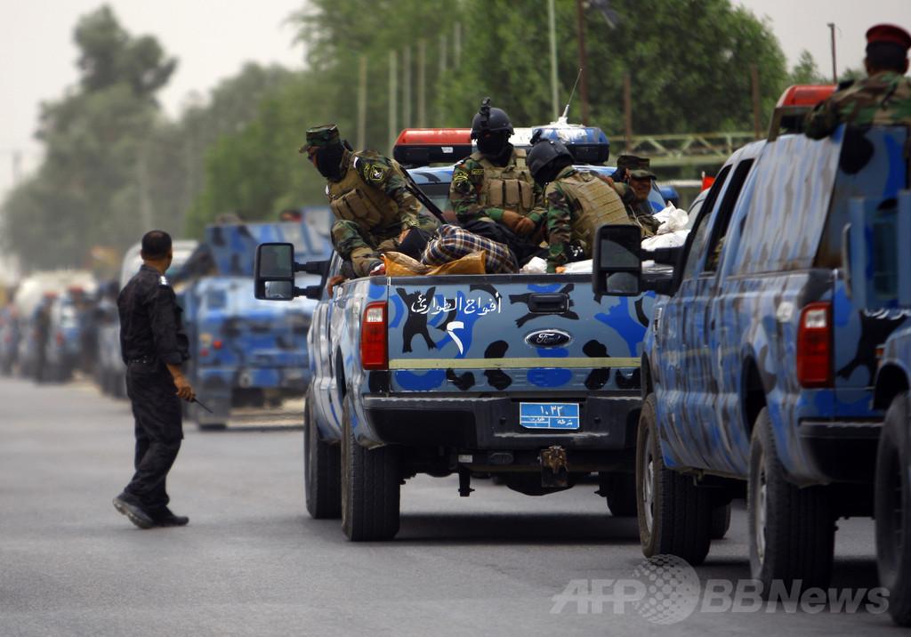 イラク第2の都市モスルを武装勢力が掌握