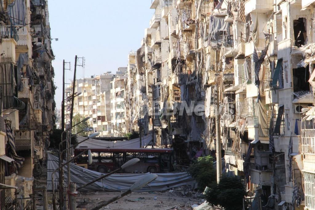 米国、シリア反体制派に武器供与を開始 米紙