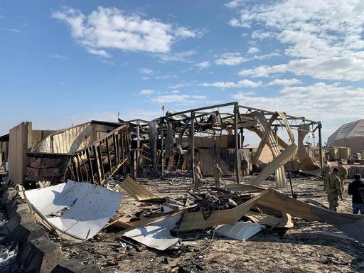 イランのミサイル攻撃で米兵11人負傷、米中央軍