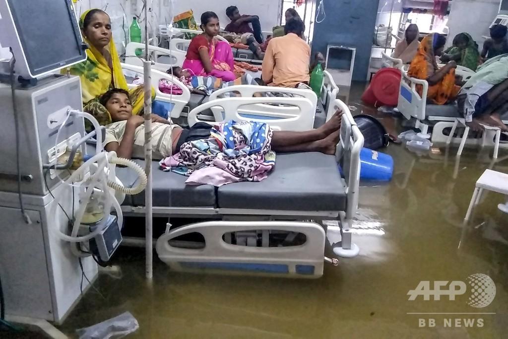 インド北部で集中豪雨、洪水で44人死亡