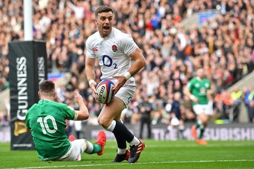 イングランド快勝でVへ望み、アイルランドに初黒星 シックスネーションズ
