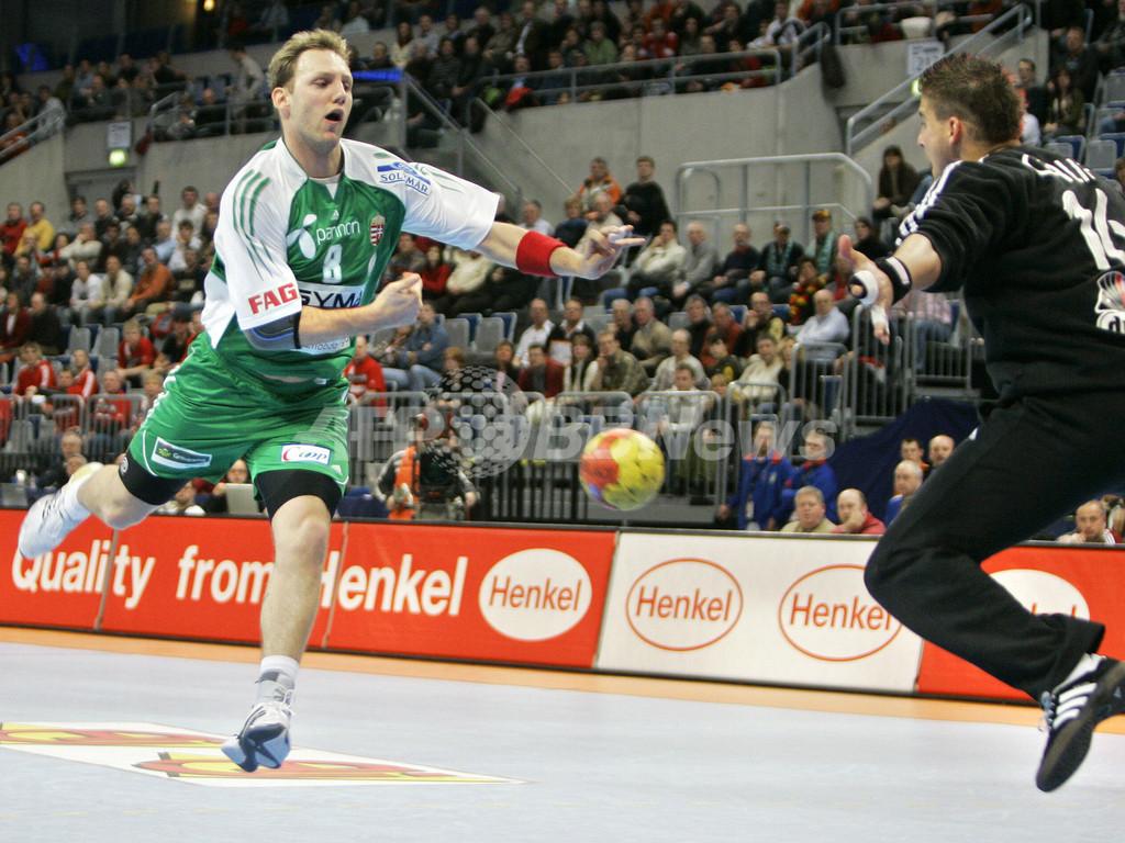 ハンドボール 男子ハンドボール世界選手権>決勝ラウンド、ハンガリー ...