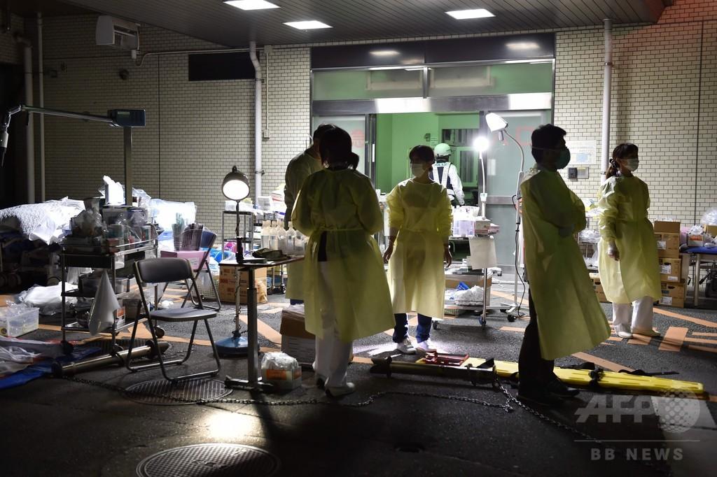 熊本で新たな地震、土砂崩れも 少なくとも2人死亡、470人負傷