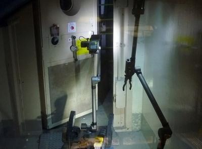 3号機原子炉建屋内で作業するロボット、福島第1原発