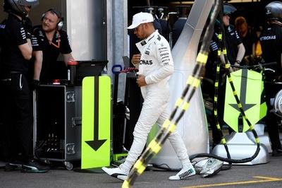 ハミルトンの予選Q2敗退、原因はセットアップの問題か