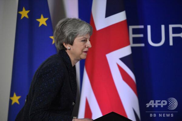 英議会、ブレグジットの主導権握る動議を可決 27日に各種離脱案めぐり投票