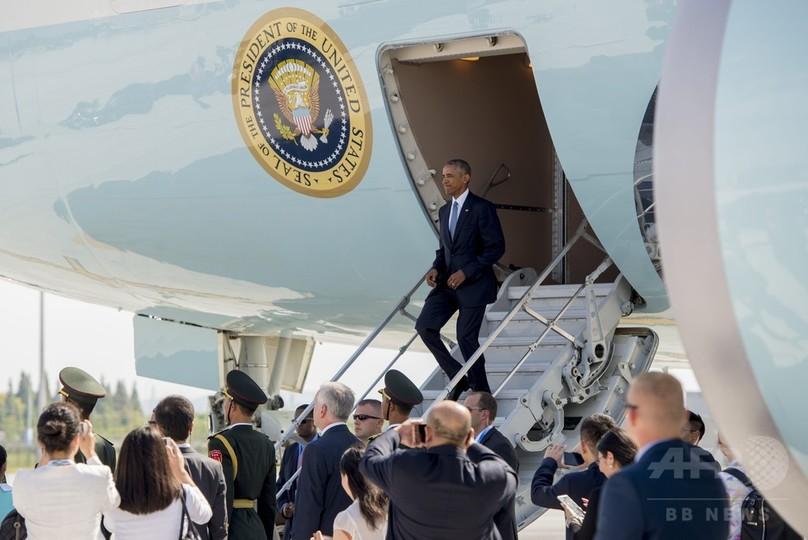 中国職員「ここはわれわれの国だ」 オバマ米大統領到着時に怒鳴る
