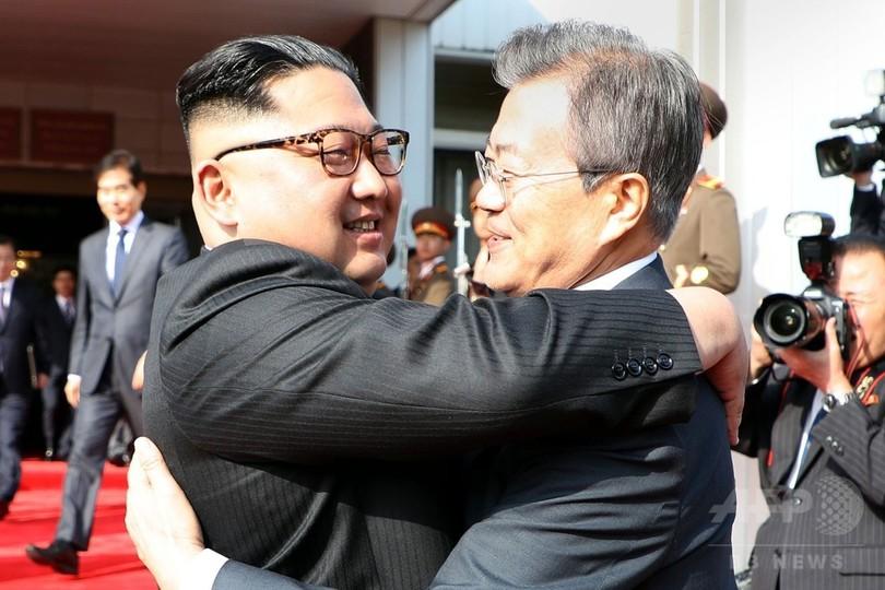 南北首脳、米朝会談実現へ再会談 米政府は準備担当者を現地派遣へ