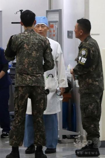 北朝鮮兵が板門店で亡命、北側から銃撃受け病院へ搬送