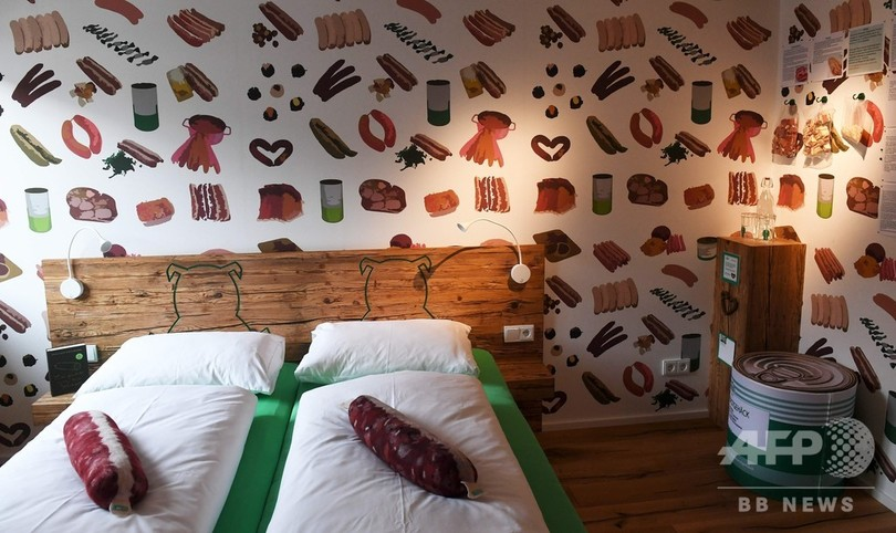 上から下までソーセージ尽くしの一夜 ドイツのホテルで休暇はいかが?