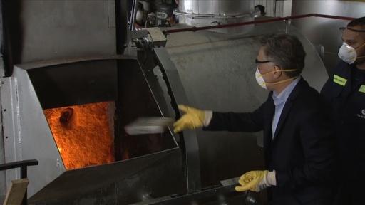 動画:アルゼンチン大統領、押収された薬物15トンの焼却処分に参加