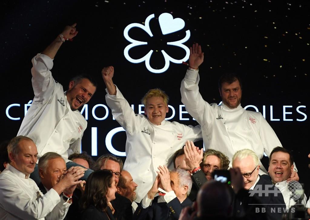 仏ミシュランで日本人初、小林圭さんが三つ星獲得