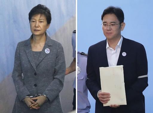 韓国最高裁、朴前大統領とサムスン副会長への二審判決破棄 審理差し戻し