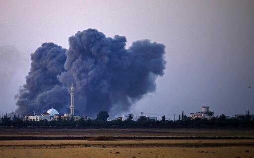 シリア政権軍、南部で反体制派への空爆再開 ロシア仲介の協議決裂