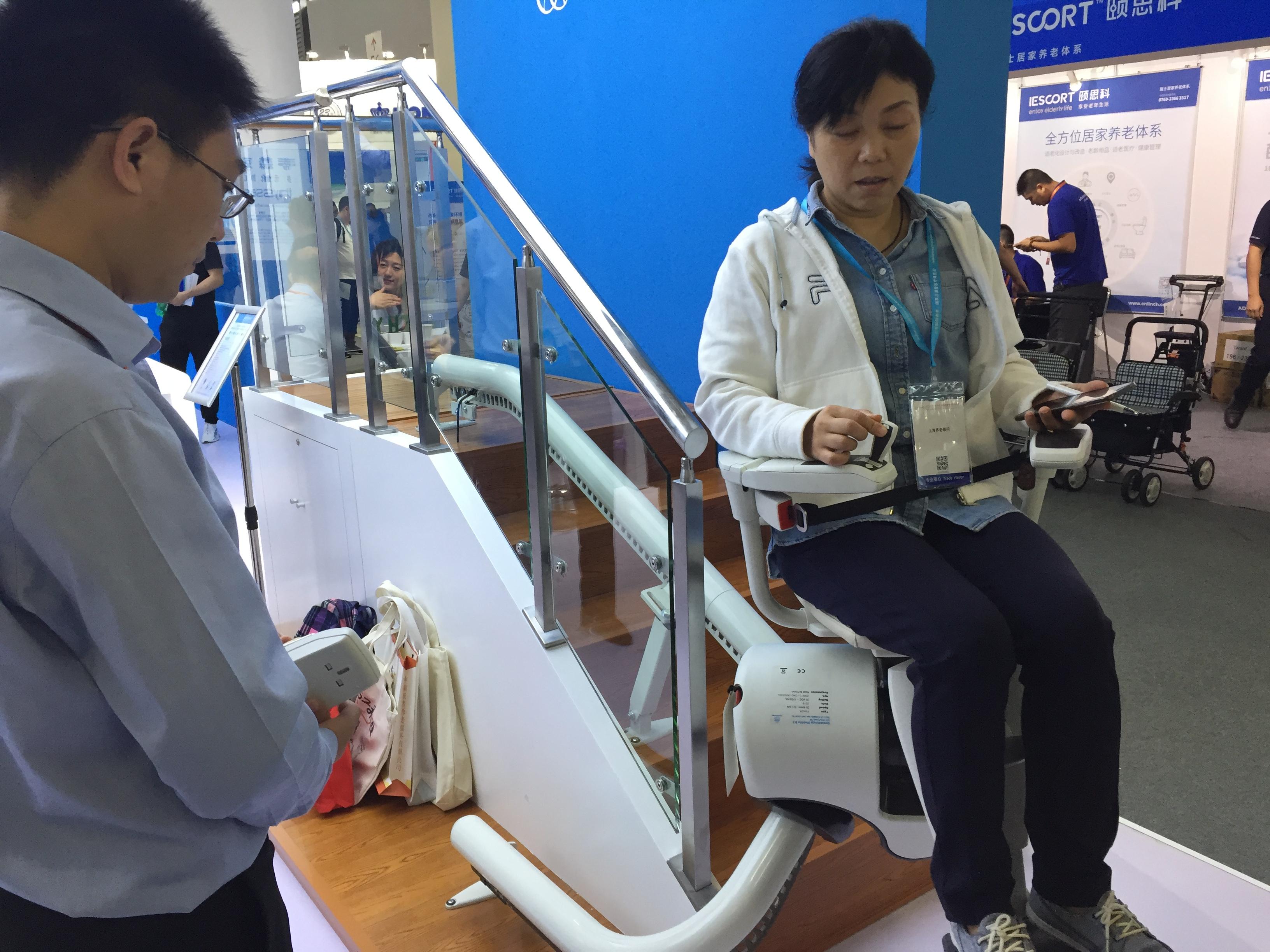 中国国際福祉機器展、高齢者福祉産業の巨大な発展余地示す