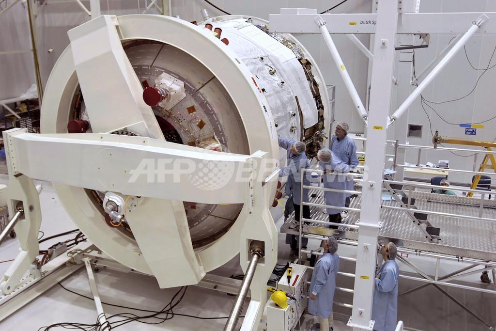 欧州宇宙機関の補給機「ジュール・ヴェルヌ」、今週末打ち上げへ