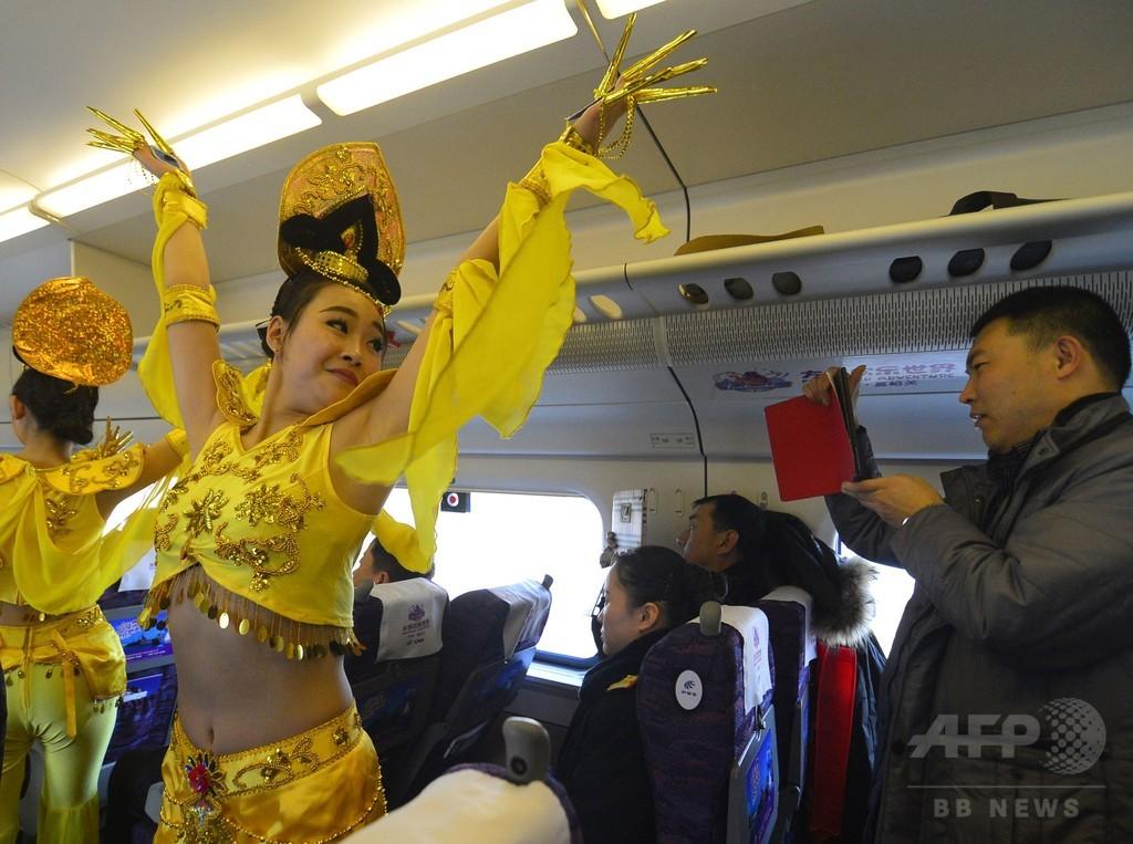 中国北西部初の高速鉄道「蘭新線第二複線」、全線で開業