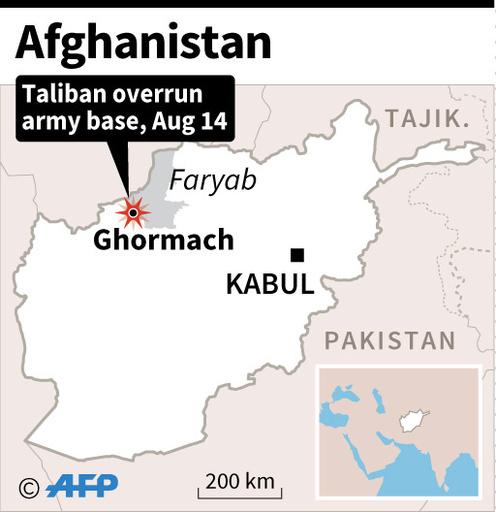 タリバン、アフガン軍基地を制圧 兵士14人死亡