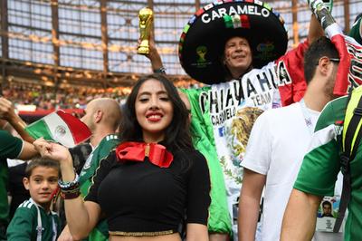W杯来場者、中南米からのファンが急増 存在感薄い欧州のサポーター
