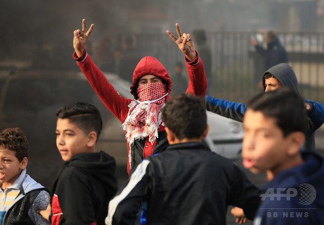 ハマス、反イスラエル闘争呼び掛け 米の「首都エルサレム」認定で